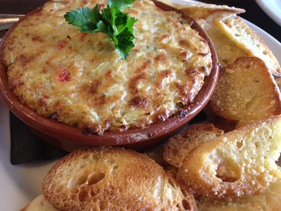 Artichoke dip by Patxi's Pizza. - TAMARA PALMER