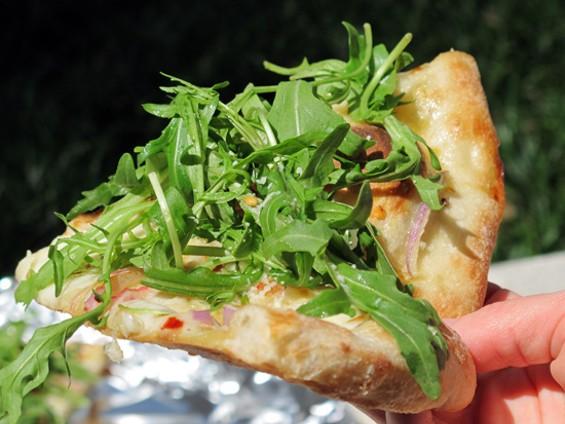 Arugula Pizza - LOU BUSTAMANTE