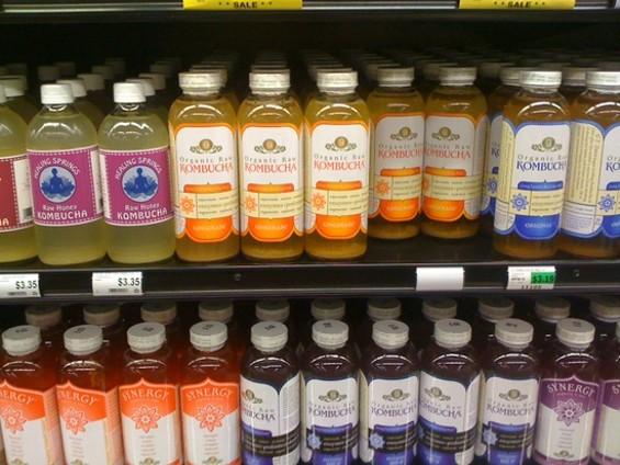 As of last Saturday, Berkeley Bowl West was fully stocked with kombucha.