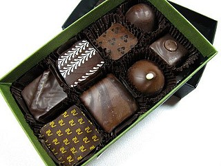 Assortment of Recchiuti chocolates: Sex in a box? - NICOLE W./YELP
