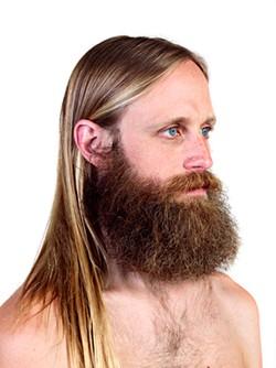 PHOTOGRAPH COURTESY OF ARTIST. - At Yerba Buena, Chris Sollars' beard goes multimedia.