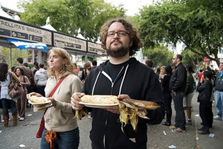 August's S.F. Street Food Festival on Folsom: We came, we queued, we chowed. - STEVE RHODES/FLICKR