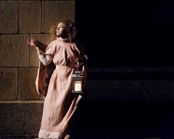 Ava Roy as Lady Macbeth - IMAGE COURTESY OF WE PLAYERS