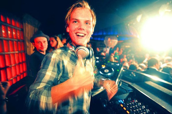 Avicii plays both Bill Graham Civic Auditorium and Ruby Skye this evening.