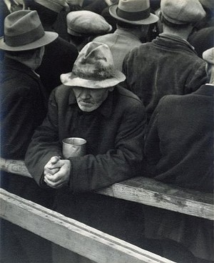 Back to the future? - DOROTHEA LANGE, SAN FRANCISCO, 1933 -- FROM THE SFMOMA COLLECTION