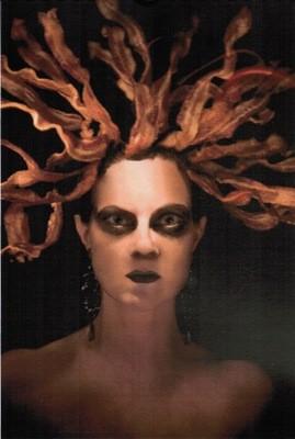 Bacon Medusa, aka Miss November. - RAY BUSSOLARI/BACON GIRL
