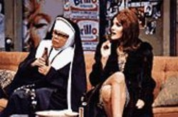 KEVIN  BERNE - Bad Habit: Beer-drinking nuns are just part of the - wacky antics layered over the play's politics.