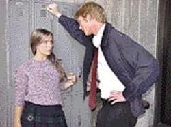 LINNEA  MULLINS - Bad Seed: Tammy (Catherine Morse) falls - victim to the violent charm of Reid (Brian - Mackey).