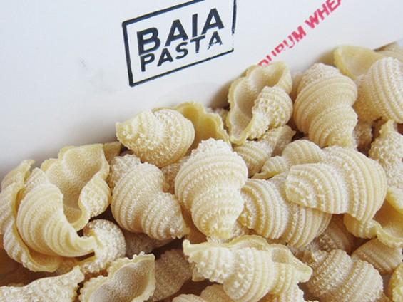 Baia Pasta's durum spinners. - ANDREW NILSEN