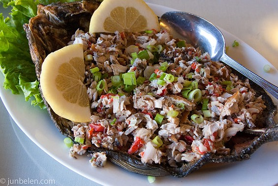 Bangus sisig at Tastebuds in San Bruno. - JUN BELEN