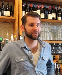 Bar and restaurant manager Bryan Hamann - LOU BUSTAMANTE