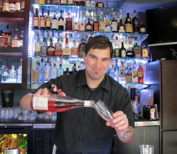 Bar manager Zachary Brian Taylor - LOU BUSTAMANTE