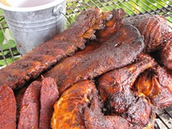 Barbecue from Gator's Back Porch. - FACEBOOK