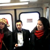 BART Carolers Bring 2 Minutes of Holiday Cheer to Weary Commuters