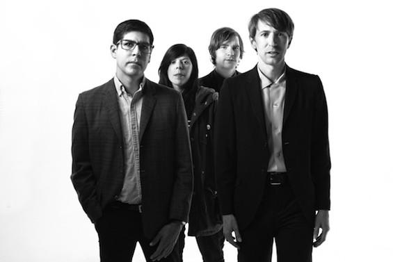 Bart Davenport and his new band. - MAREESA STERTZ