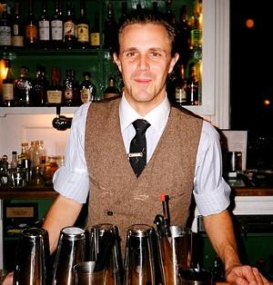 Bartender Jim Kearns of NYC's Prime Meats - ATISHA PAULSON
