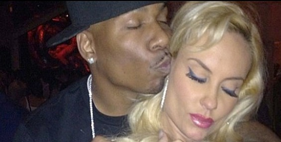 Bay Area rapper AP.9 poses with Ice T's wife, Coco. - TMZ