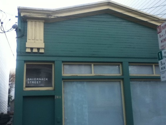 Be a peeping Tom in this gallery. - JUAN DE ANDA/SF WEEKLY