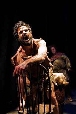PAK HAN - Beardo is actually Rasputin, played by Ashkon Davaran.
