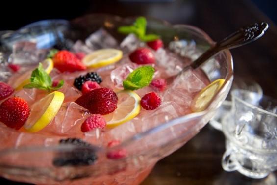 Bedlam Champagne Punchbowl - Burritt Room + Tavern