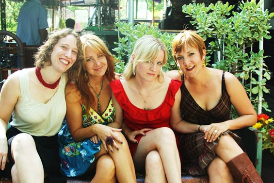 BedPost Confessions producers  Rosie Q., Sadie Smythe, Mia Martina, and Julie Gillis