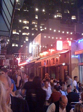 Belden Alley: S.F.'s urban Epcot now has an American place. - K. TODD STORCH/FLICKR