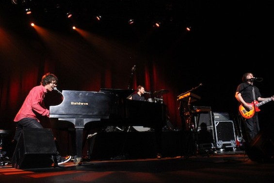 Ben Folds Five at the Warfield last night. All photos by the author.