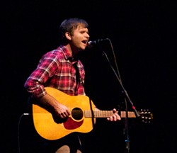 NATHAN MATTISE - Ben Gibbard at Palace of Fine Arts