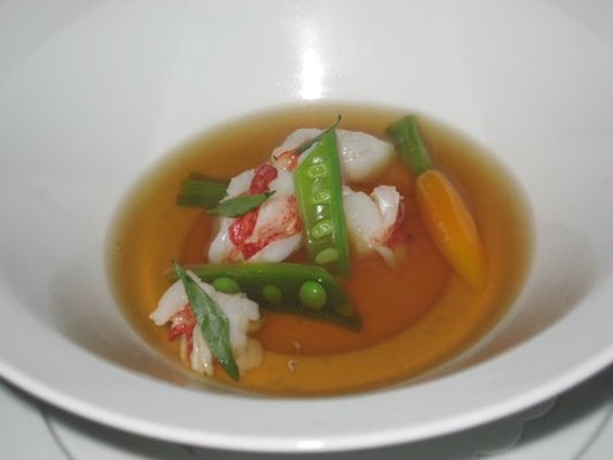 Benu's lobster bouillon. - NICOLE S./YELP