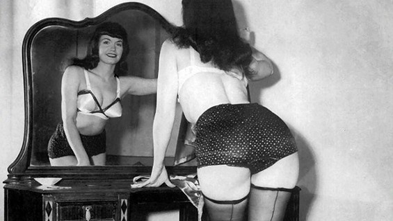 Bettie Page: So naughty, so nice.