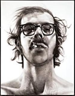 Big Work, Big Attitude: Chuck Close's Big - Self-Portrait.