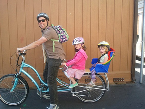 Bike to Work Day, 2012. This was the last anyone saw of these kids. - SFBIKE