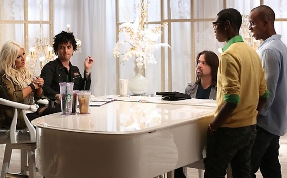 Billie Joe Armstrong on the Voice - TYLER GOLDEN/NBC