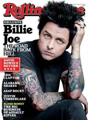 "Billie Joe's ""I'm sorry"" moment."