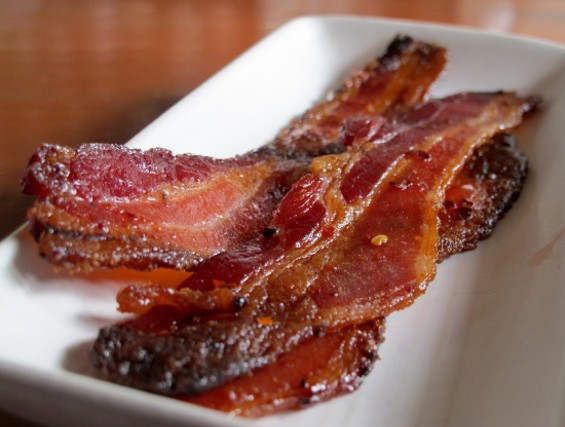 Billionaire's Bacon at Maven for instant hangover relief - LOU BUSTAMANTE