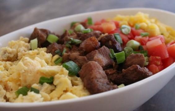 Binagoongan fried rice at Cali in San Bruno. - YELP/RANO B.