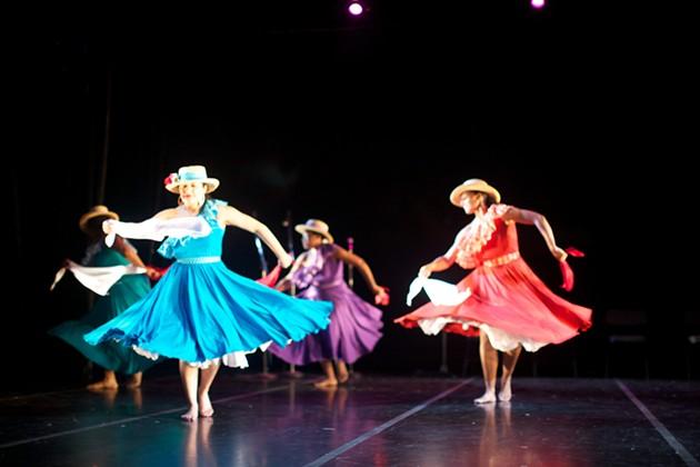 Carmen Roman, Cumanacue Dance Company; photo credit Alarcon Murukami