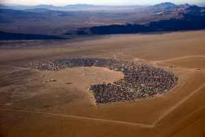 Black Rock City from above - CRAIGSLIST