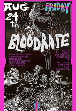 "Bloodrape follows the journey of an ""all-girl-vampire-hardcore-thrash-punk band."""
