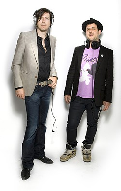 Blowin' Up: Jefrodesiac (left) and Richie Panic.