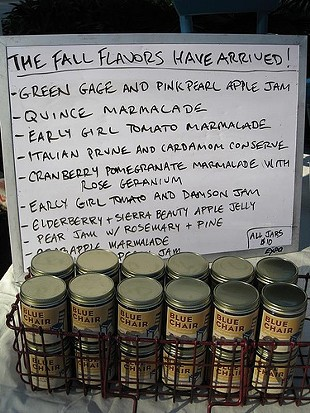Blue Chair's jam CSA offers San Franciscans access to seasonal flavors. These are from 2008. - SUSIEFOODIE/FLICKR