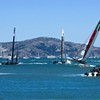 America's Cup: Team Oracle Boat Capsizes by Golden Gate Bridge (Video)