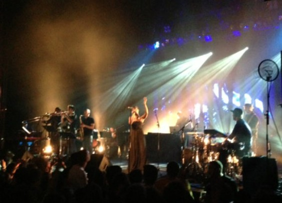 Bonobo at the Warfield on Friday.