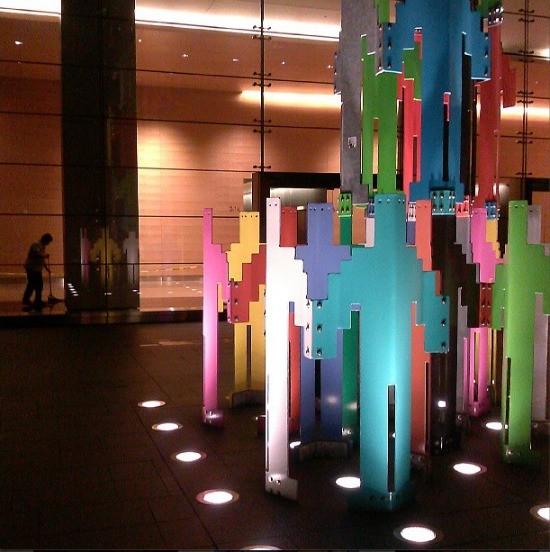 "Borofsky's ""HUman Structures"" - INSTAGRAM: @JUANTANAMERO"