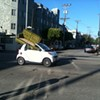 Smart Car Used as Moving Van (PIC)