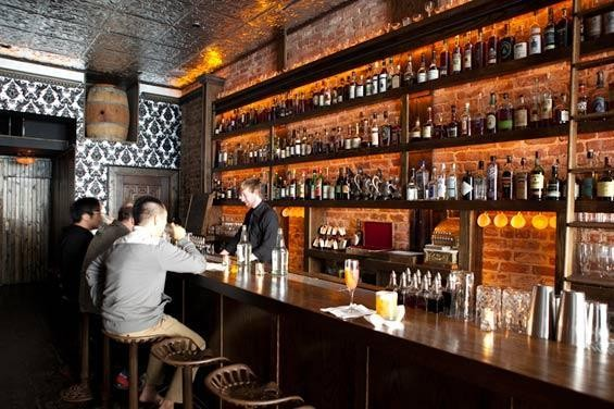 Bourbon & Branch now includes a side bar, The Wilson. - KIMBERLY SANDIE