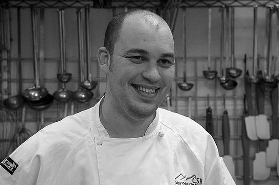 Brew chef Adam Dulye. - CULINARYSCHOOLROCKIES/FLICKR