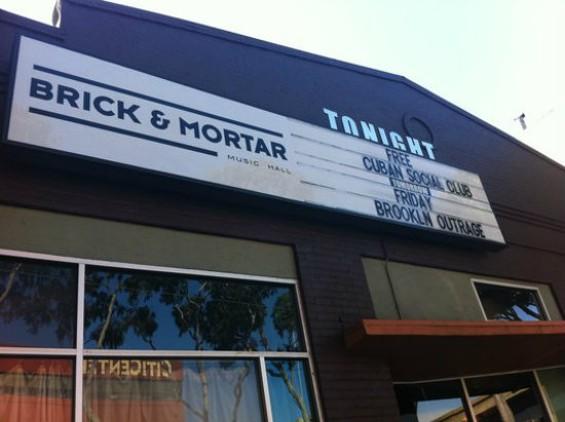 Brick and Mortar Music Hall - ERIC B./YELP