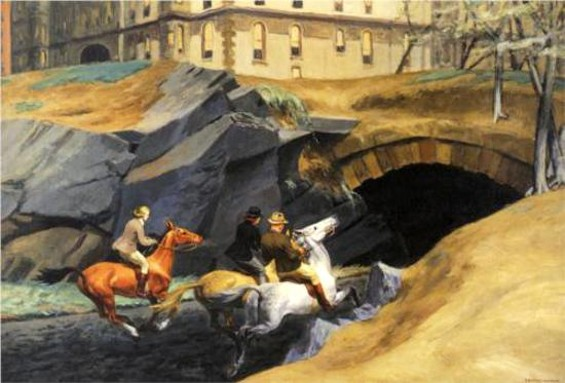Bridle Path (1939) is not like other Hoppers. - EDWARD HOPPER