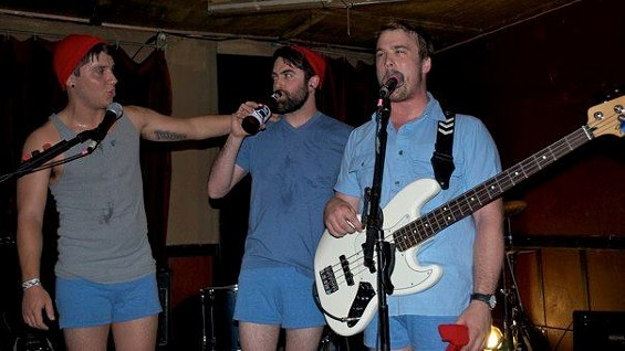 Brightlighters: Dressed as Steve Zissou, only during Halloween performances